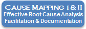 Cause Mapping I & II – How to Analyze, Document, Communicate and Solve Problems Effectively